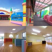 玉岡尭舜幼稚園(結城)足洗い場、玄関ホール、教室