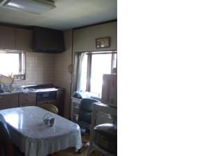 リフォーム事例 T邸キッチン before画像